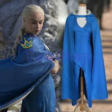 Game Thrones Halloween Costumes Daenerys Aliexpress Buy Game Thrones Daenerys Targaryen Cosplay