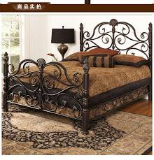 wrought iron bed princess bed linens person double beds c retro