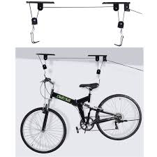 Ceiling Mount Storage by New Bike Bicycle Lift Ceiling Mounted Hoist Storage Garage Hanger