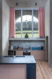 light blue kitchen cabinets uk 21 pink kitchen ideas how to get the on trend kitchen