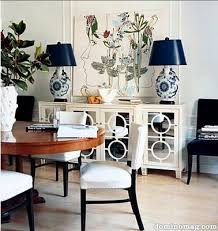 domino magazine dining rooms mirrored console mirrored