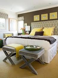yellow and gray room yellow and gray bedroom contemporary bedroom bhg