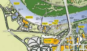 barefoot landing map directions festival map taste of omaha 20th anniversary