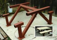Picnic Table Frame Pin By Andrey Skorobogatov On мебель Pinterest Metal Picnic