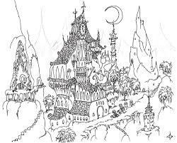 hard halloween coloring pages for adults holiday halloween