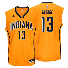 adidas nba paul george indiana pacers jersey
