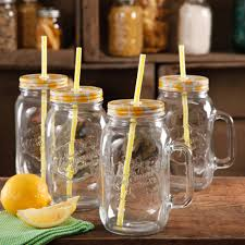Kitchen Glass Canisters With Lids by The Pioneer Woman Simple Homemade Goodness 32 Ounce Mason Jars