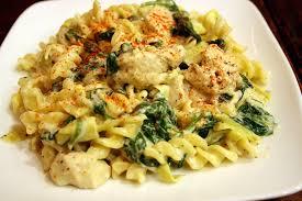 shrimp and artichoke casserole spinach and artichoke fusilli w lemon pepper chicken or shrimp