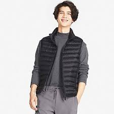 s ultra light collection vests uniqlo us
