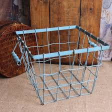 Shabby Chic Wire Basket by 49 Best Baskets Images On Pinterest Wire Baskets Kitchen