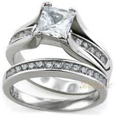 stainless steel wedding rings bridal wedding bands stainless steel sears