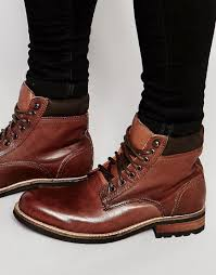 brown working boots mens boots 8 new style designer genuine