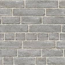 Stone Brick Gray Nuwallpaper Wallpaper Wallpaper U0026 Borders The Home Depot