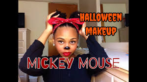 Minnie Mouse Halloween Makeup by Mickey Mouse Halloween Makeup Look 1 Crystyle Beauty Youtube