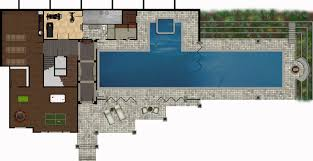 outdoor pool floor plans home ideas picture page here nice grey nuance the modern coastal house plans that can add inside metal