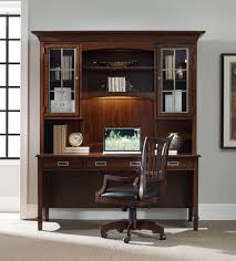Home Computer Desk With Hutch by Hooker Furniture Home Office Latitude Computer Credenza Desk Hutch