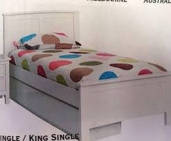 King Bed With Trundle Trundle Bed King Single White With Single Trundle Goingbunks Biz