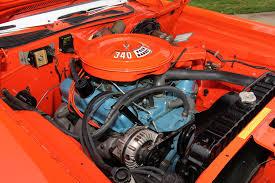 Dodge Challenger 1972 - under the hood 1972 dodge challenger rallye js23