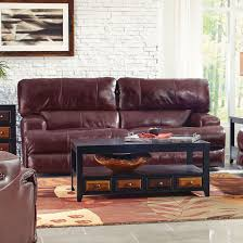Catnapper Reclining Sofas by Catnapper Wembley Leather Lay Flat Reclining Sofa In Walnut 4581