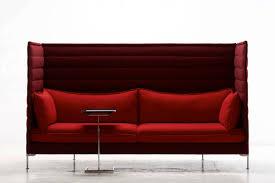 canap alcove bouroullec canapé contemporain en métal chromé en tissu pour