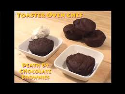 Toaster Oven Dinners Toaster Oven Chef Death By Chocolate Brownie Youtube