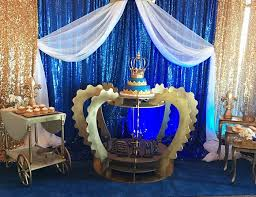 royal blue and gold baby shower decorations royal prince baby shower decorations to welcome your prince