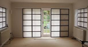 Interior Sliding Glass Doors Room Dividers Picture Of Sliding Panel Curtains All Can Download All Guide And