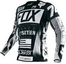 motocross gear fox 74 95 fox racing mens flexair union jersey 235479