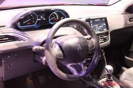 peugeot 2008 interior 2017 peugeot 2008 facelift 2016 geneva motor show live