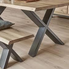 cuisine bois et metal pied de table a manger bois et metal salle magasin cuisine lzzy co