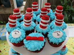 dr seuss cupcakes edible cat in the hat dr seuss cupcake toppers by sweetitis 0708
