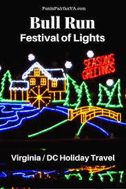bull run festival of lights holiday drive through fun in northern