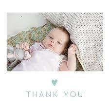 baby thank you cards baby thank you cards lovely heart atelier rosemood
