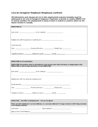 free employment contract forms and templates fillable
