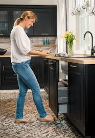 kitchen sink cabinet doors richelieu unveils free electronic door opening system