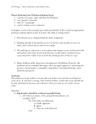 essay sample outline cover letter example of problem and solution essay example of cover letter cover letter template for example of a problem solution essay sampleexample of problem and