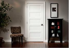 Interior Doors White Practical And Aesthetic 5 Panel Interior Door All Modern Home