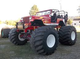 biggest bigfoot monster truck legendary monster jeep built by yakima native gets a second life