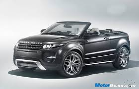 Range Rover Evoque Convertible Is First Suv