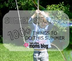 summer syllabus 100 things to do this summer