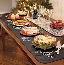 Buffet Items Ideas by Chalkboard Table Runner Easy To Make Great To Label Items At A