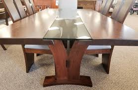 Walnut Live Edge Table by Live Edge Furniture Amish Home Gallery