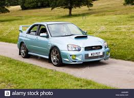 classic subaru 2004 subaru impreza wrx sti wr1 at leighton hall classic car rally