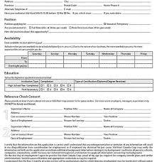 Barnes And Noble Application Printable Job Applications Printable Restaurant Job Application
