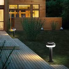 garden bollard light urban contemporary aluminum boletus