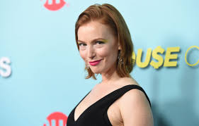alicia witt at shameless house of lies and episodes premiere in