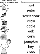fall pre k worksheets worksheets for all and