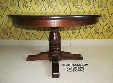 Pine Pedestal Dining Table Round Pedestal Dining Table Ebay