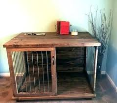 dog kennel side table kennel coffee table peekapp co