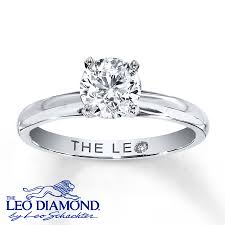 artisan engagement rings leo artisan ring 1 carat 14k white gold